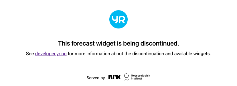 Weather forecast - Čertovica