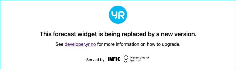 Meteogram Björkliden: View from the restaurant at Hotel Fjäl.