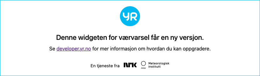 Weather forecast - Dyleň